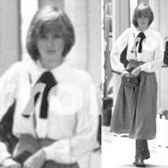 October Princess Diana with her detective and her lady-in-waiting, Anne Beckwith Smith shopping in Knightsbridge, London. Princess Diana Death, Princess Diana Photos, Princess Diana Family, Princess Of Wales, Spencer Family, Lady Diana Spencer, Princesa Diana, Elizabeth Ii, The Heir