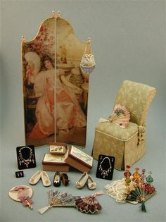 Handcrafted 1:12 scale dollhouse miniature accessories
