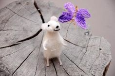 Needle Felted Animal Felted mouse Needle Felted by Morenafelting by Milos Petrovic