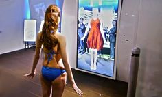 Magic mirror lets you try on fully interactive virtual clothes