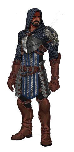 Weisshaupt Grey Warden Armor - Medium (Rogue)