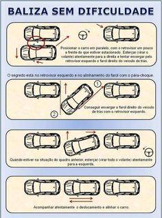 Como estacionar bem o carro