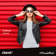 Blusões de cabedal é uma peça clássica que todo o guarda-roupa feminino deve ter. Esta tendência transmite um estilo cool e irreverente a qualquer look de outono inverno. Temos por aqui fãs desta tendência?
