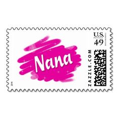 Add stamps to all your different types of stationery! Find rubber stamps and self-inking stamps at Zazzle today! Ink Stamps, Self Inking Stamps, Postage Stamps, Nana Gifts, Stationery, Love, Pink, Amor, Papercraft