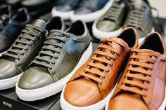 Choose your color: sneakers for the BOSS Menswear Fall/Winter 2016 lookbook shoot