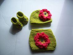 Diaper Set Pattern  Crochet Nappy Pattern  by AlwaysPrettyInPink