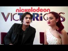 ariana grande and avan jogia funny interview!