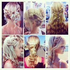 Mermaid Hairstyles Mako Mermaids Hairstyles Tutorial  Sirena's Braids  Hair Nails And