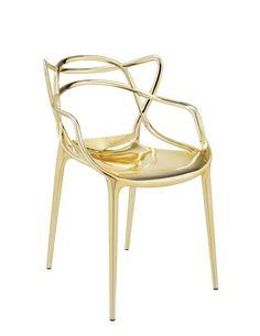 Master design chair by Kartell, designer Philippe Starck