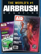 Thank you for signing up   Airbrush Action -Airbrush and Airbrushing Magazine, and Airbrush Getaway Workshops