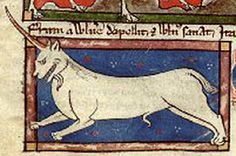 Mid 13th century, The monocerus is a fierce beast that cannot be caught or tamed,.Bibliothèque Nationale de France, lat. 3630, Folio 79r/Medieval Bestiary : Monocerus Gallery