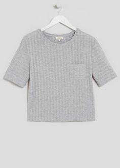 Ribbed T-Shirt - Matalan