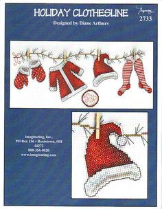 ru / Фото Santa Clothes line Xmas Cross Stitch, Modern Cross Stitch, Cross Stitch Kits, Cross Stitch Charts, Cross Stitch Designs, Cross Stitching, Cross Stitch Embroidery, Cross Stitch Patterns, Loom Patterns