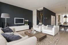 Minimalist Living Room Design Ideas For A Stunning Modern Home. Find and save ideas about Minimalist living rooms in this article. Home Living Room, Living Room Designs, Living Room Decor, Living Spaces, Living Area, Room Interior, Interior Design, Interior Ideas, Modern Interior