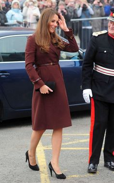 Kate Middleton Shows Baby Bump
