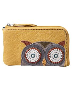 Fossil coin purse owl