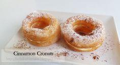 Kedai Rachmah: Cronuts Cronut, Croissant, Doughnut, Cinnamon, Sweets, Desserts, Recipes, Cakes, Food