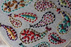 Sweet Verbena: Paisley Embroidery
