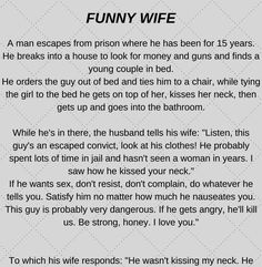 Funny Wife - Funny Story !!!