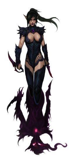 Maiden Of Torment by akakuma.deviantart.com on @deviantART