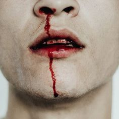He could taste the blood In his mouth and he knew it was his own but for some reason he liked the taste
