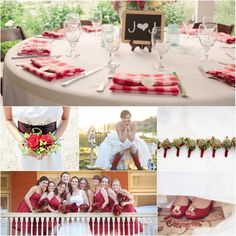 Ideas For A Red Wedding