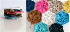 DIY Crochet DIY Yarn DIY Crochet hexagon