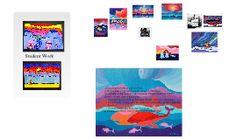 Ted Harrison Art Lesson by Emma Stewart on Prezi Art School, School Ideas, 6th Grade Art, Thread Art, Arts Ed, Canadian Artists, Art Lesson Plans, Teaching Art, Art Education