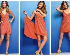 Easy DIY Beach Wrap Cover Up Free Sew Pattern - Video Easy Sewing Patterns, Sewing Ideas, Sewing Projects, Craft Projects, Sew Pattern, Wrap Pattern, Towel Dress, Beach Wrap, Towel Wrap