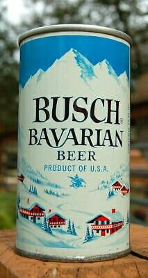 BUSCH BAVARIAN BEER ,St. Louis MO ~1969 / looks like flat top version { unlisted }