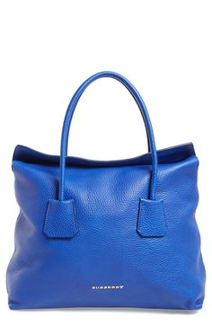 Burberry 'Medium Baynard' Leather Tote available at #Nordstrom