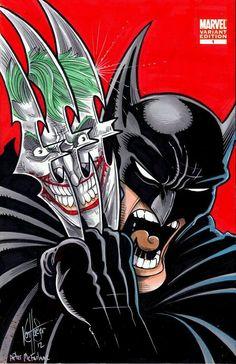 Incredible Hulk #340 Batman and Joker Variant - Todd Mcfarlane