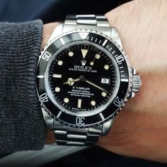 Rolex Watches Collection For Men : Rolex Sea-Dweller 4000 116600 - Watches Topia - Watches: Best Lists, Trends & the Latest Styles Sport Watches, Cool Watches, Dream Watches, Luxury Watches, Rolex Watches, Rolex Explorer Ii, Rolex Cellini, Watches Photography, Sea Dweller