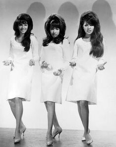 """The Ronettes perform """"Be My Baby"""" and """"Shout"""" from the film, The Big T. The song """"Be My Baby"""" was composed by Elli. The Ronettes, The Ventures, Ronnie Spector, 60s Music, Be My Baby, Baby Live, Soul Music, Motown, Music Videos"""