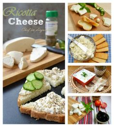 Homemade cheese, several different types, I WILL try doing this!