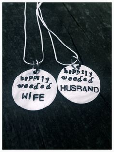Marijuana Necklace Weed Couples Necklace Weed Wife by 420somewhere