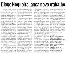 Bem Paraná #Clipping2016 #DiogoNogueira