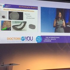 #3dprinting @djamilaolivier Implants 3D Printing in titanium and chrome cobalt #doctors20 #instamood by franck_schneider