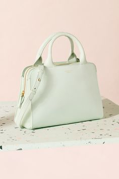 de9a77e3eb The Millbank leather zip-top grab bag is a beautiful piece for the new  season