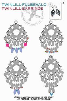 Twinlill earrings