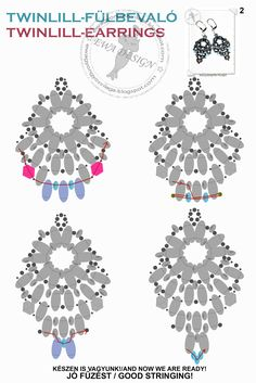 Twinlill earrings
