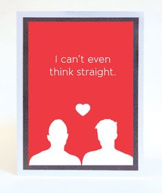 funny illustrated gay valentines day card - Gay Valentines Cards