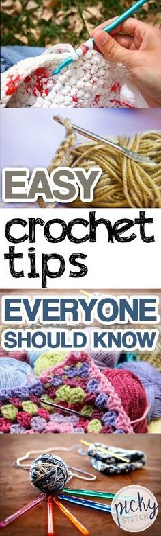 Easy Crochet Tips Everyone Should Know- Crochet Tips, Crochet Tips for Beginners, DIY Home, Crafts, Crafting Tips, Crafting Tips for Beginners, DIY Home Decor, Crochet Tips for New Crocheters.