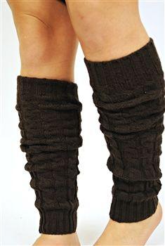 Leg Warmers - Black