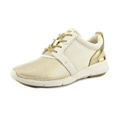 da29e80b04f2 Michael Michael Kors Amanda Trainer Women US 7 White Sneakers