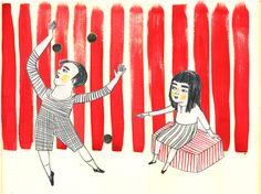 Chiara Carrer Il circo di Berta e Pablo