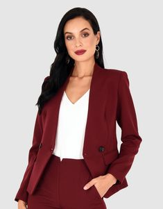Rema Collarless Blazer