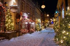 a ribbon at a time — conflictingheart: quebec city's petit champlain...