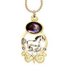 Horse Ocean Dance Necklace