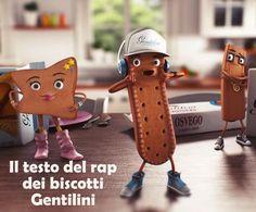 Il testo della canzone dei biscotti Gentilini e il crucipuzzle